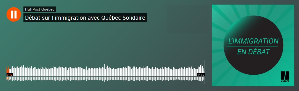 Podcast sur l'immigration